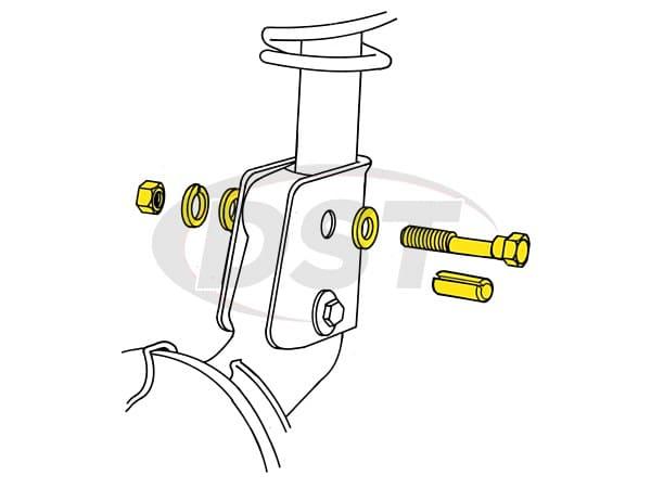 MOOG-K80110 Front Camber Adjustment Kit