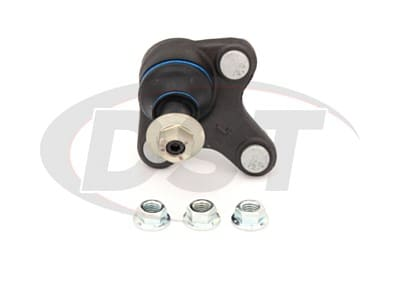Moog Front Lower Ball Joints for A3, A3 Quattro, Q3, Q3 Quattro, Beetle, e-Golf, Eos, Jetta, Passat, R32, Rabbit, Tiguan