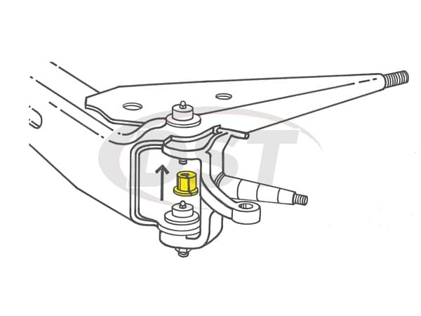 MOOG-K8366 Front Caster Camber Bushing