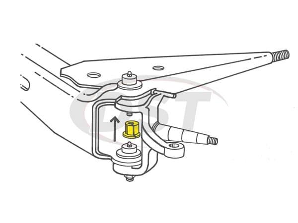 MOOG-K8368 Front Caster Camber Bushing