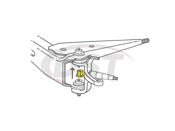 moog-k8370 Front Caster Camber Bushing - 1 3/4 Degree of Adjustment