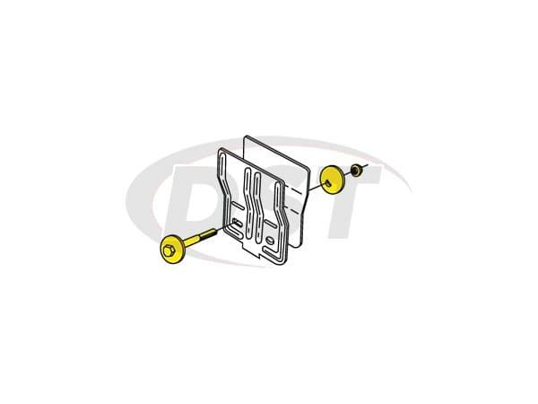 MOOG-K8460 Rear Cam Bolt - Adjusts Camber +/-1/4 Degree