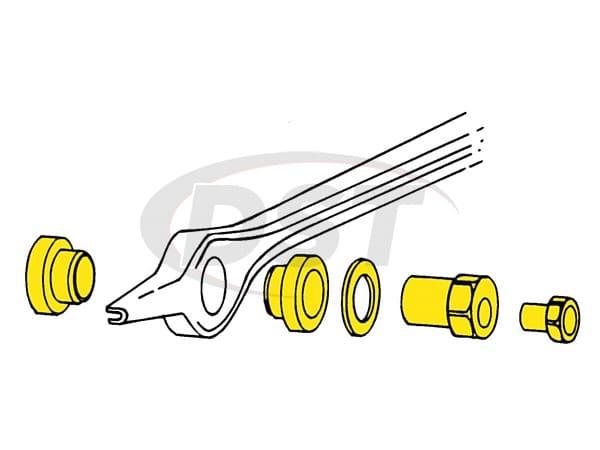 MOOG-K8585 Rear Toe Adjusting Kit - Driver Side