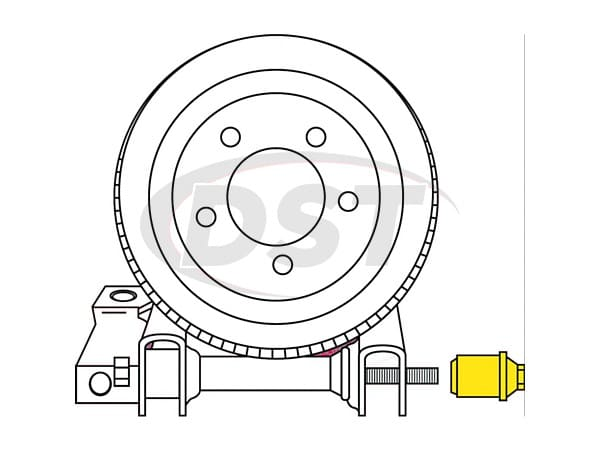 moog-k8823 Rear Toe Adjusting Kit - Adjusts Camber +/-1 1/4 Degree