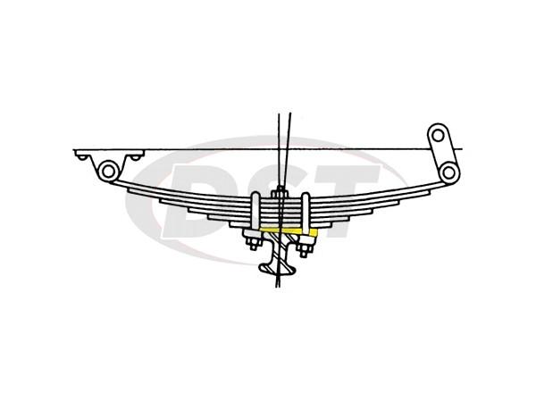 moog-k8879 Caster Wedge Kit