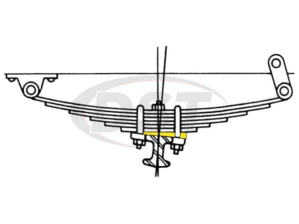 MOOG-K8887 Caster Wedge Kit
