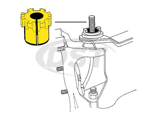 MOOG-K8961 Front Caster Camber Bushing - 3/4 degree of adjustment