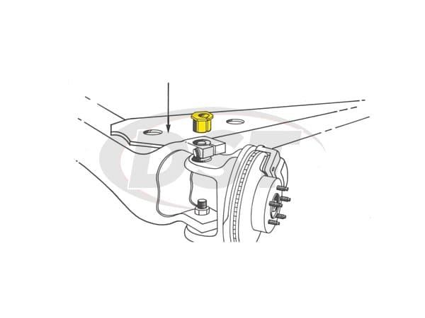 Front End Alignment Kit - Ford Ranger