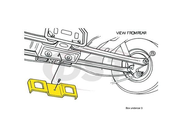 rear end alignment kit ford taurus moog moog k8985. Black Bedroom Furniture Sets. Home Design Ideas