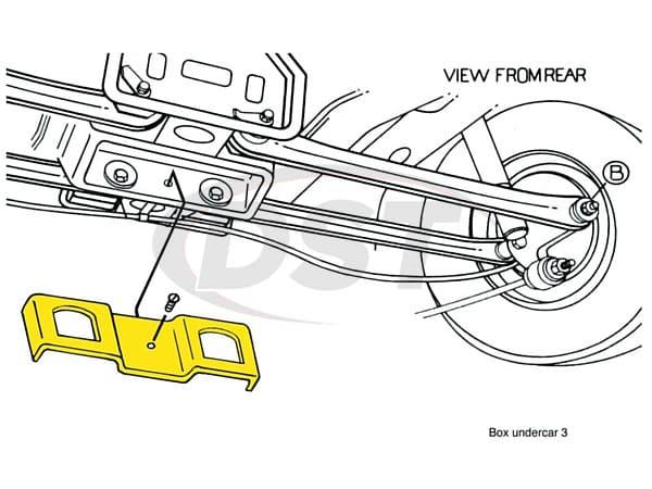 MOOG-K8985 Rear Camber and Toe Adjusting Kit - Sedan