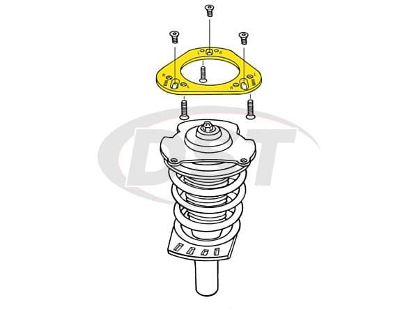 MOOG-K8991 Front Alignment AdjustingPlates