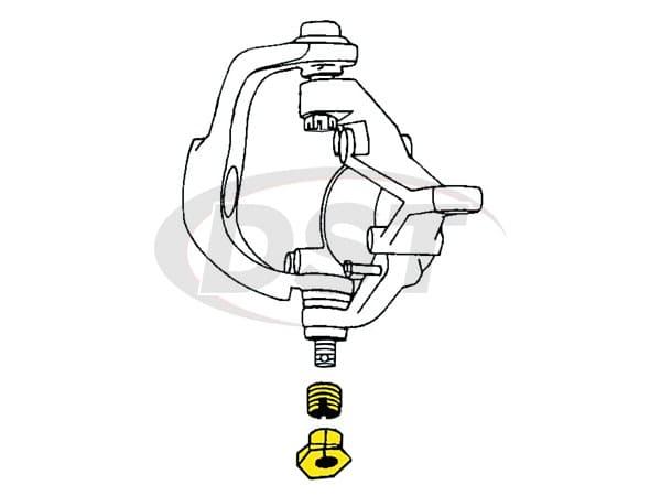 MOOG-K932 Caster/Camber Alignment Kit