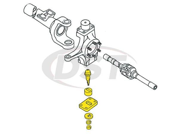 MOOG-K992 Front Lower King Pin Camber Adjustment Kit