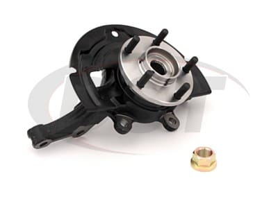Complete Front Steering Knuckle Assembly - Driver Side