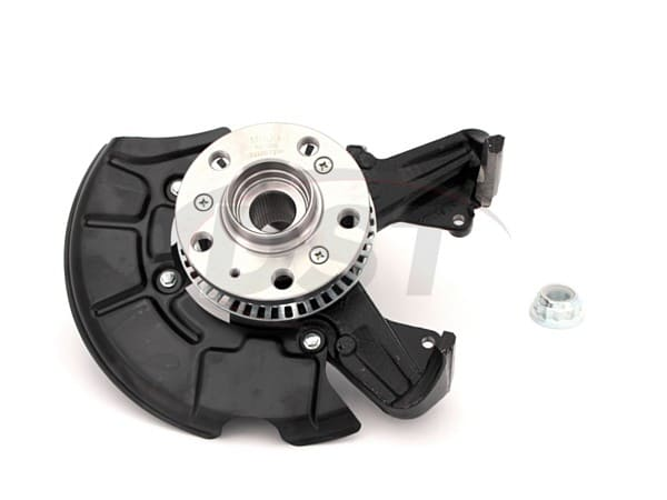 Complete Front Steering Knuckle Assembly - Passenger Side