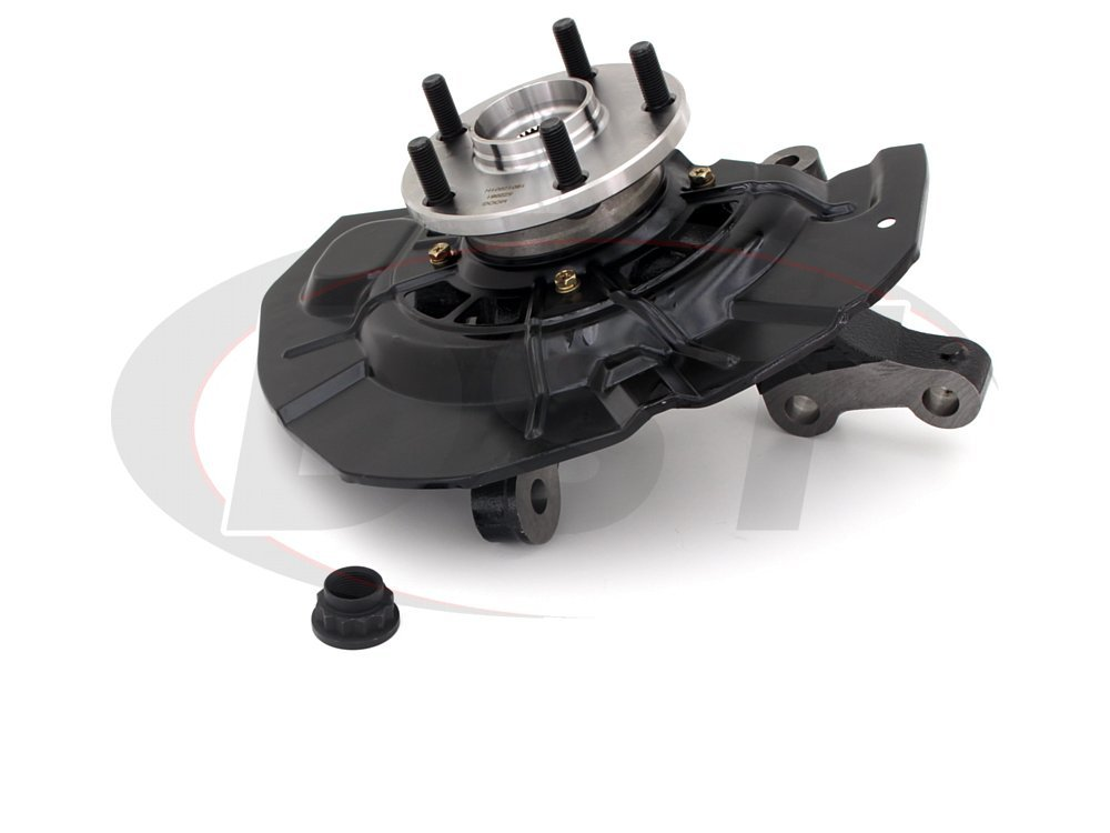 A-Premium Hub Bearing Steering Knuckle Assembly Compatible with Toyota Highlander 2006-2007 Lexus RX350 2007-2009 RX330 2004-2005 Front Passenger Side