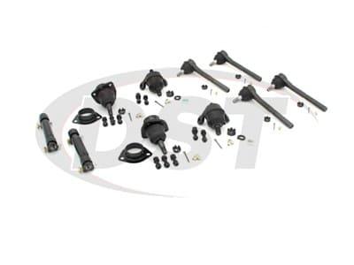 Moog Front End Steering Rebuild Package Kit for Bel Air, Biscayne, Caprice, Impala