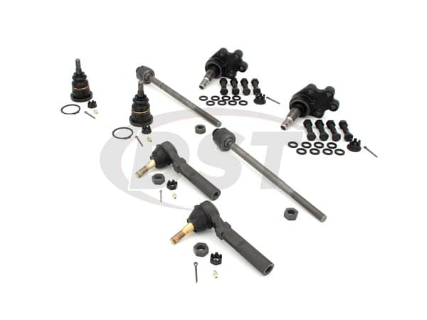 Front End Steering Rebuild Package Kit - Rack Steering Only