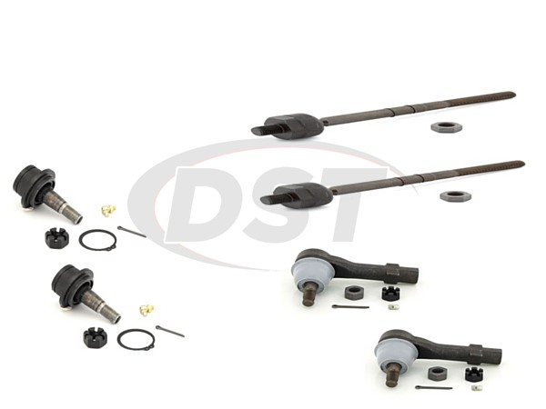 Front End Steering Rebuild Package Kit - Non Sport