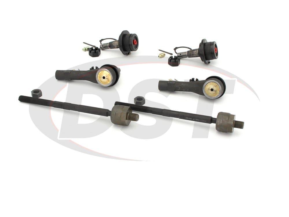 moog-packagedeal060 Front End Steering Rebuild Package Kit - Sport Trac