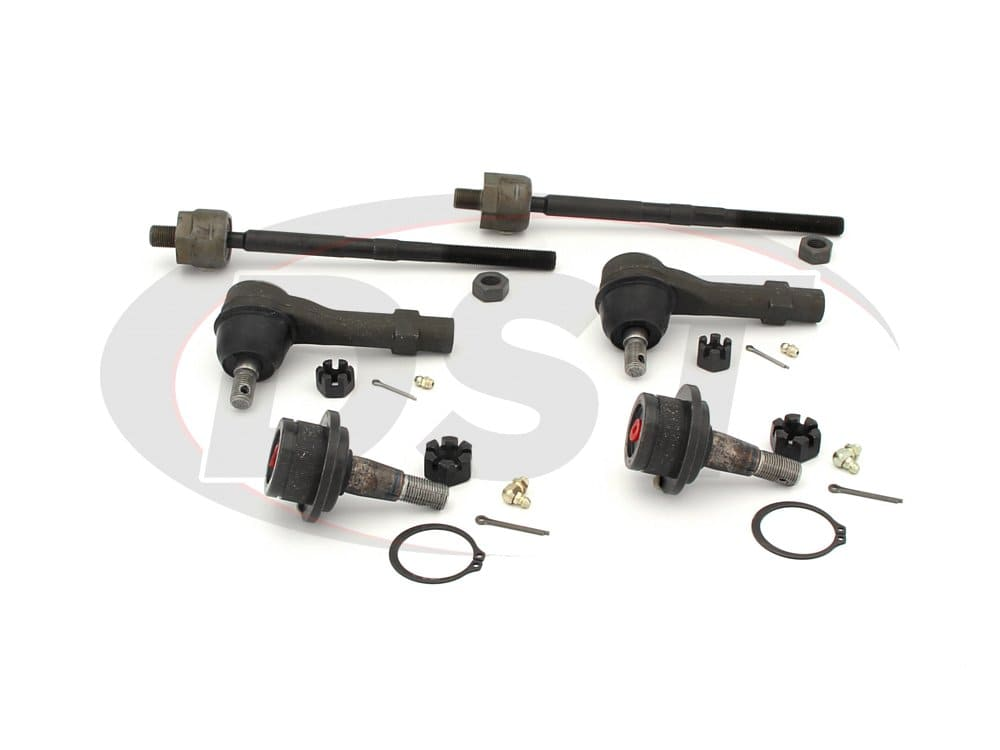 moog-packagedeal060 Front End Steering Rebuild Package Kit - Sport Trac