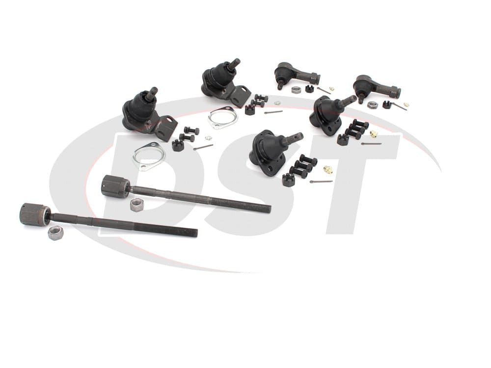 moog-packagedeal066 Front End Steering Rebuild Package Kit - Power Steering