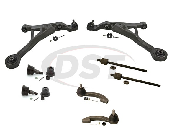 Front End Steering Rebuild Package Kit - Sedan and Convertible Only