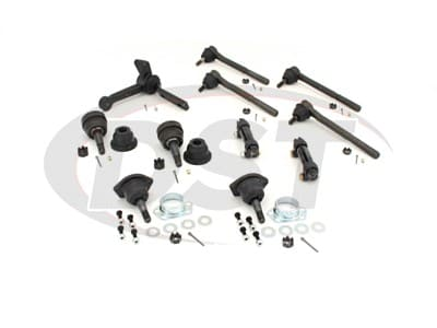 Moog Front End Steering Rebuild Package Kit for Chevelle, El Camino, Monte Carlo, Cutlass, Grand Prix, GTO, LeMans