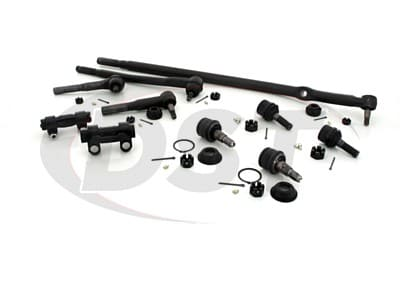 Front End Steering Rebuild Package Kit - Twin I Beam Axle