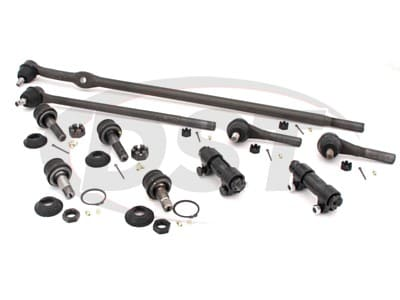 Moog Front End Steering Rebuild Package Kit for Bronco, F-150