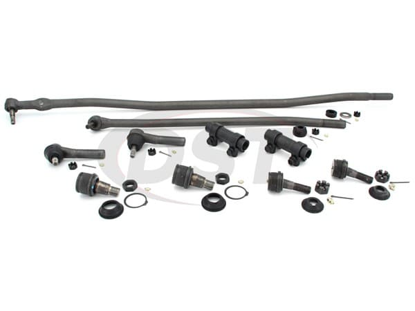 Front End Steering Rebuild Package Kit - Single Rear Wheel