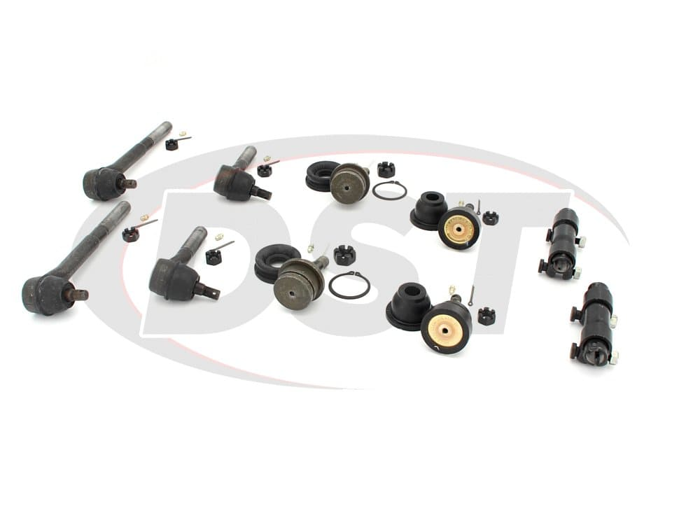 moog-packagedeal127 Front End Steering Rebuild Package Kit - Independent Front Suspension