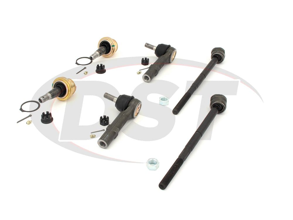 moog-packagedeal143 Front End Steering Rebuild Package Kit - Non Hybrid