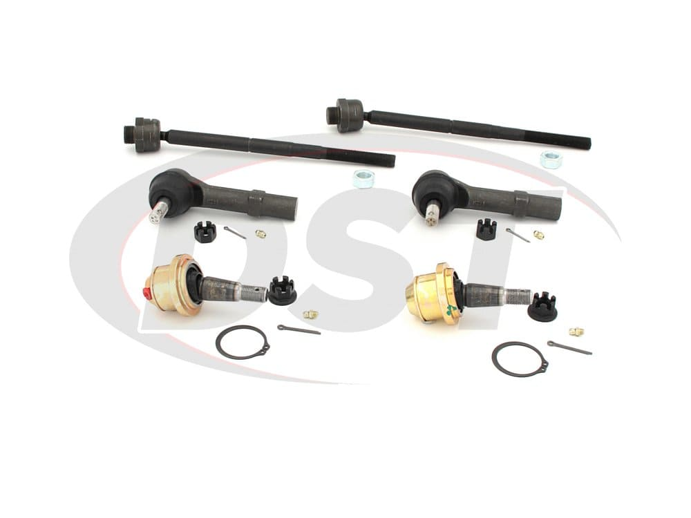 moog-packagedeal143 Front End Steering Rebuild Package Kit - Non Hybrid