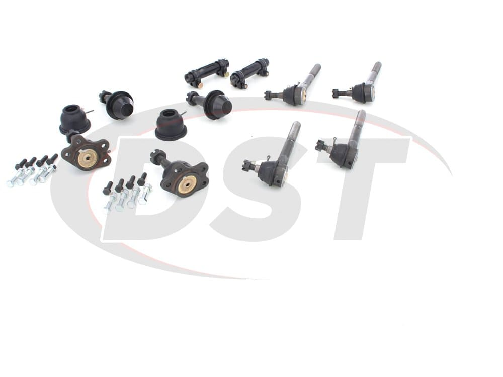 moog-packagedeal152 Front End Steering Rebuild Package Kit - Gas Models