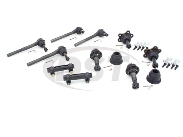 Front End Steering Rebuild Package Kit - Gas Models