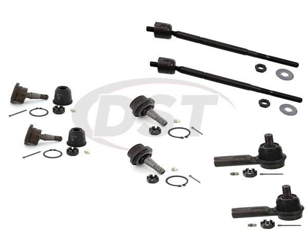Suspension Stabilizer Bar Bushing Kit-RWD Front,Rear Moog K90531