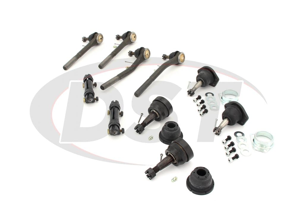 moog-packagedeal236 Front End Steering Rebuild Package Kit - Manual Steering
