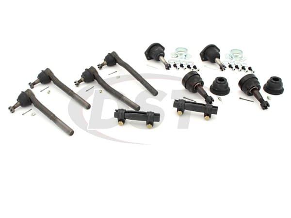 Front End Steering Rebuild Package Kit - Manual Steering