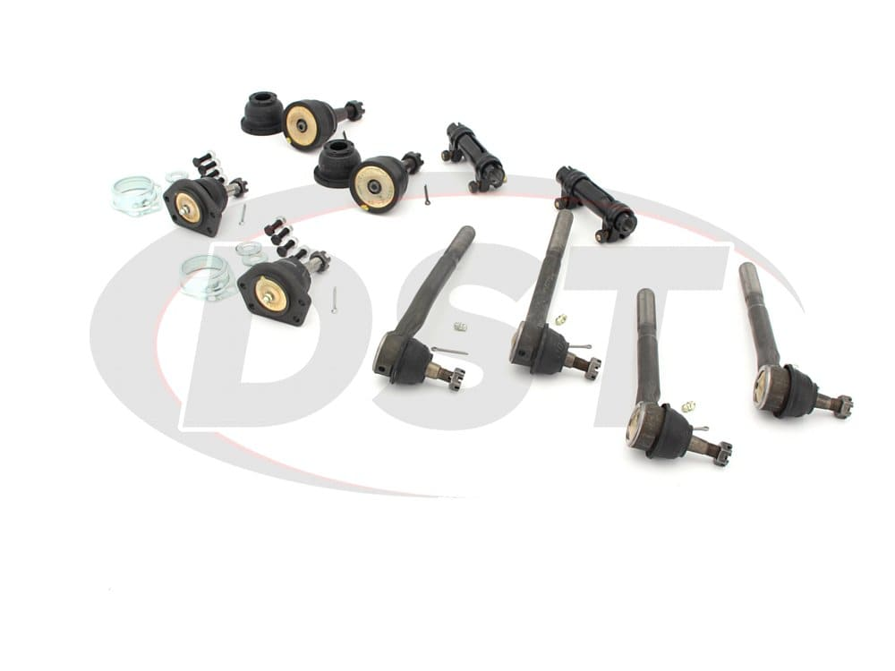 moog-packagedeal240 Front End Steering Rebuild Package Kit - V8 Models