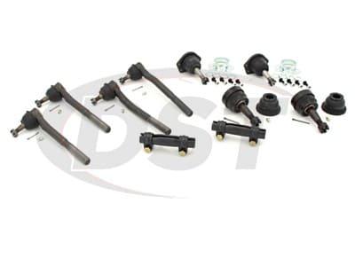 Front End Steering Rebuild Package Kit - V8 Models