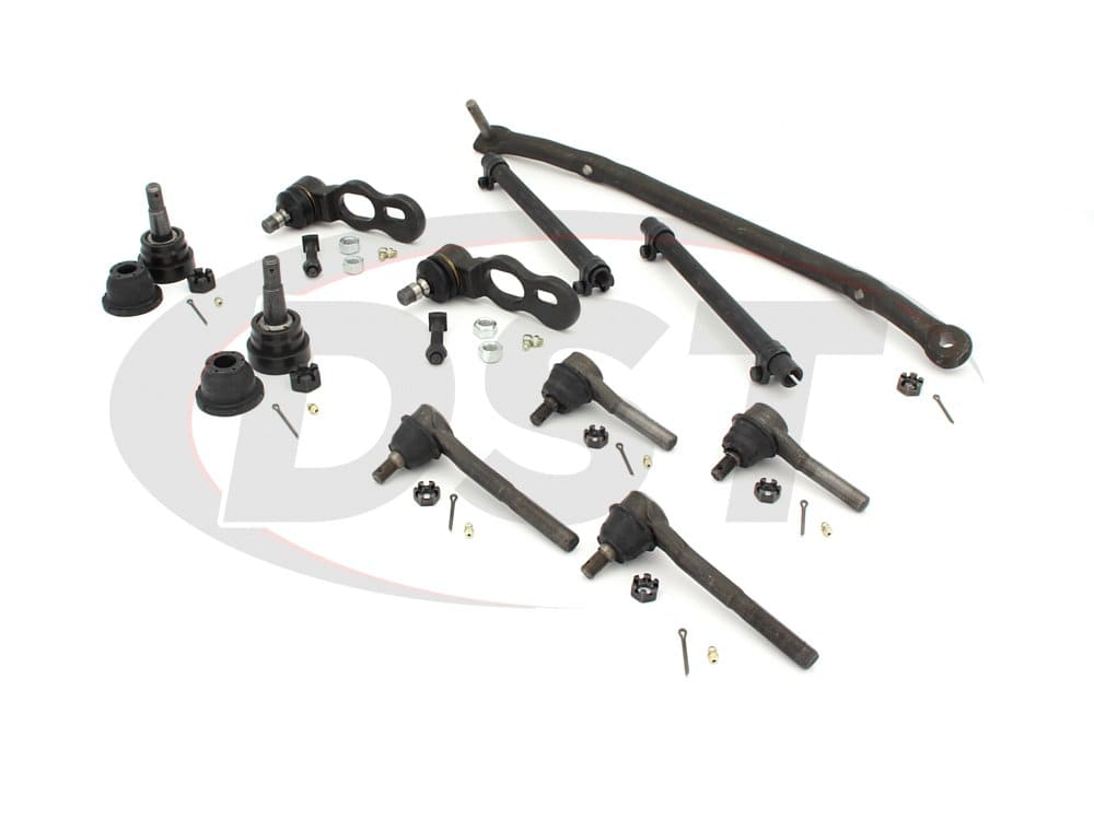 Front End Steering Rebuild Kits For The Lincoln Town Car