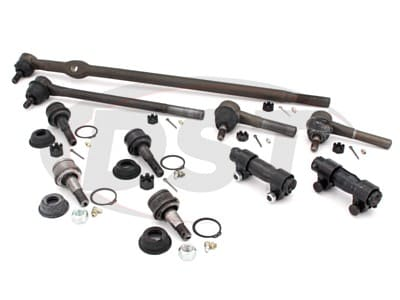 Front End Steering Rebuild Package Kit - 4 Wheel Drive