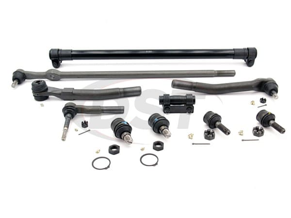 moog-packagedeal303 Front End Steering Rebuild Package Kit - Ford F250 and F350 4WD 2005 - 2007
