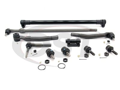 Front End Steering Rebuild Package Kit - Ford F250 and F350 4WD 2005 - 2007
