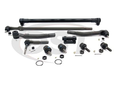 Front End Steering Rebuild Package Kit - Ford F250 and F350 4WD 2008 - 2010