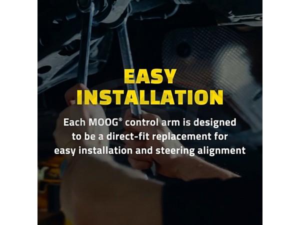 moog-rk643189 Rear Lower Rearward Control Arm - Passenger Side