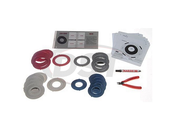 Camber Toe Shim Assortment