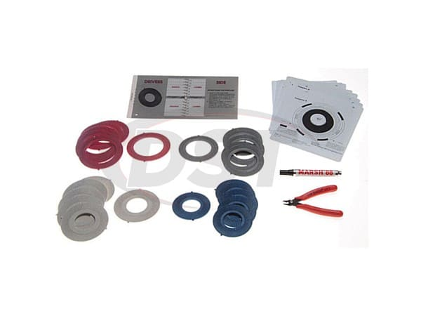 moog-shim1c Camber Toe Shim Assortment