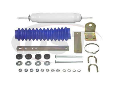 Front Steering Stabilizer and Damper Kit